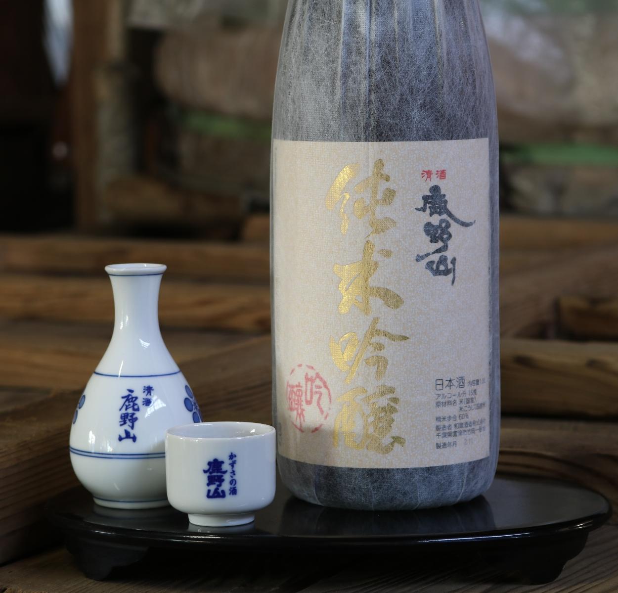 鹿野山純米吟醸1800ml