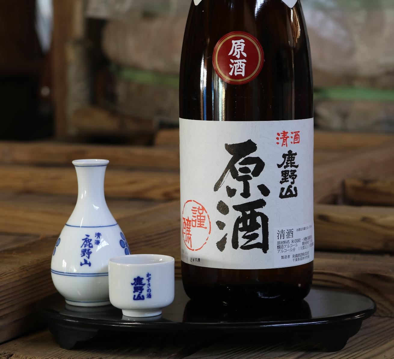 鹿野山 本醸造原酒1800ml