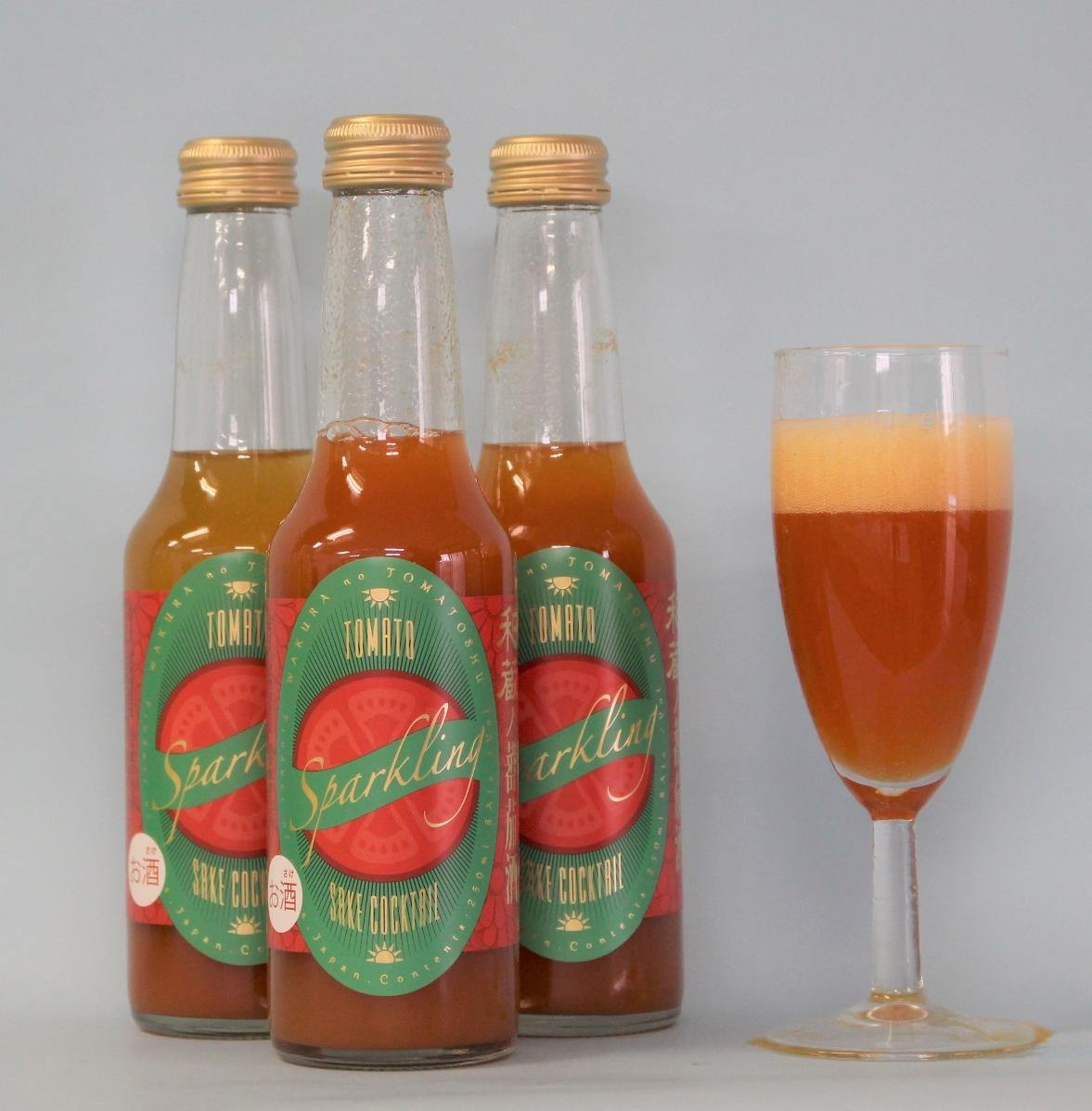 和蔵の蕃茄酒スパークリング250ml3本セット
