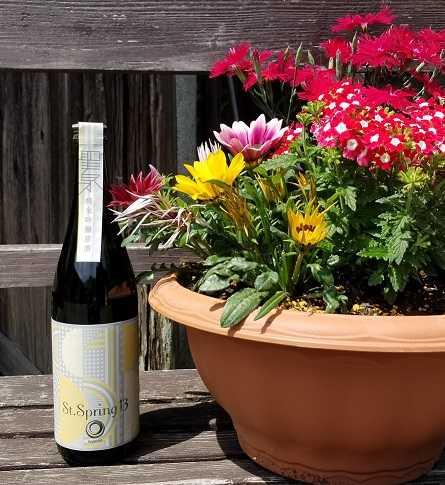 低アルコール原酒  聖泉「St.Spring」新発売のお知らせ